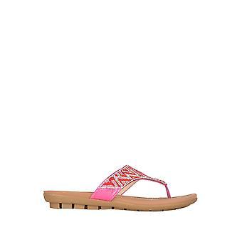Lotus Patti Flat sandalias en color rosa