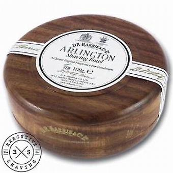 D R Harris Shaving Soap Bowl in Arlington 100g