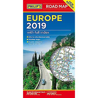 Philip's Europe Road Map by Philip's Maps - 9781849074353 Book