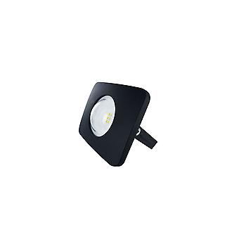 Integral - LED Floodlight 10W 4000K 1000lm Matt Black IP65 - ILFLB009