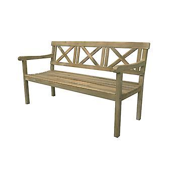 Cozy Garden Railay tuinbank 155x66 cm - lichte teaklook