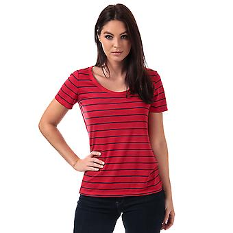 Womens Levi's Cali T-Shirt In Vanessa Chinese Red