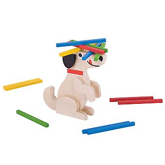 Bigjigs Toys Wooden Stack a Stick Traditional Stacking Topple Game