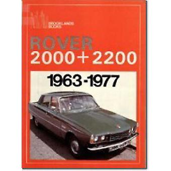 Rover 2000 and 2200 - 1963-77 by R. M. Clarke - 9780907073864 Book