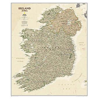 Ireland (Eire) by National Geographic Maps - 9781597753517 Book