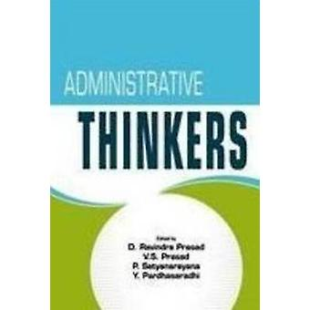 Administrative Thinkers by D. Ravindra Prasad - Y. Pardhasaradhi - V.
