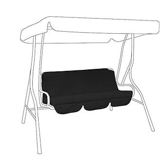 Gardenista® Black Replacement Canopy for 2 Seater Swing Seat