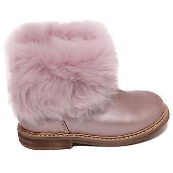 Bota de tobillo POM D'Api retro Chabraque, Blush Rose