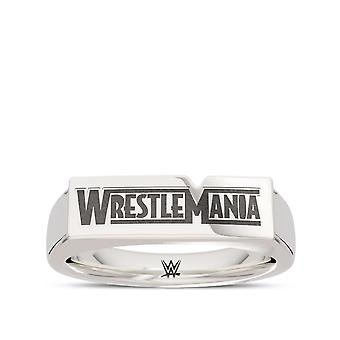 Wrestle Mania - Wwe Wrestlemania Ring In Sterling Silber