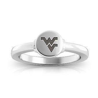 West Virginia University - Mountaineers Logo Engraved Signet Ring