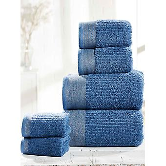 Mayfair 6 Piece Towel Bale Denim