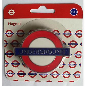 Tfl™3007 licensed underground™ bottle opener fridge magnet