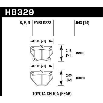 Hawk prestaties HB329F. 543 HPS