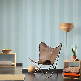 A.S. Creation AS Creation Stripe Pattern Wallpaper Faux Fabric Cloth Effect Gingham Textured 354122