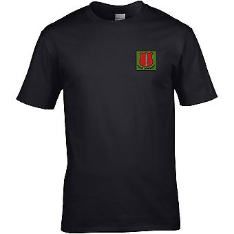 School Of Infantry - Licensed British Army Embroidered Premium T-Shirt