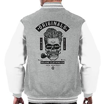 London Banter Originals Hipster Skull Men's Varsity Jacket