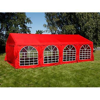 Tente de réception UNICO 5x8m, Rouge