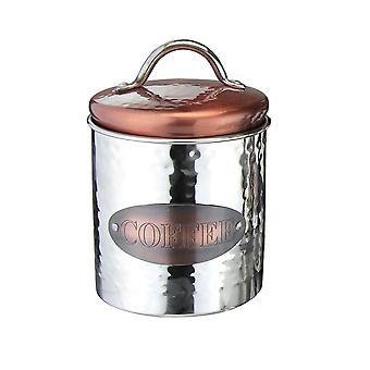 Apollo Copper Coffee Canister