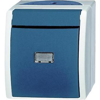 Busch-Jaeger Switch Ocean (surface-mount) Blue-green 2621 W-53-206