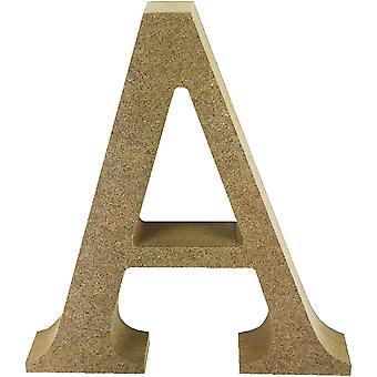 Smooth MDF Blank Shape-Serif Letter A TCMDF011