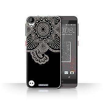 STUFF4 Case/Cover for HTC Desire 530/Flower/Henna Tattoo