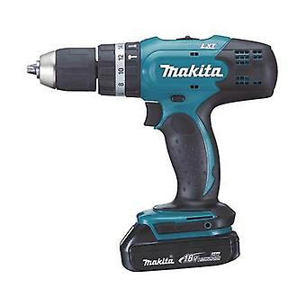 Makita DHP453RYLJ Cordless impact driver 18 V 1.5 Ah Li-ion incl. spare battery, incl. case, incl. work light