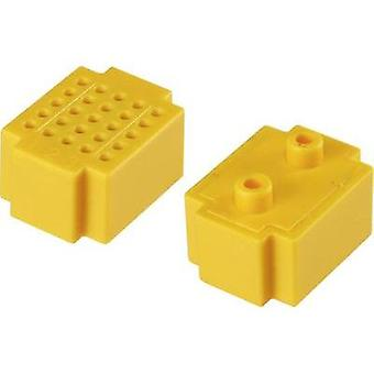 Breadboard Yellow Total number of pins 25 (L x W) 20 mm x 15 mm