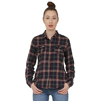 Tartan Check Shirt - Dark Blue
