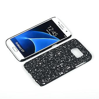 Cell phone cover case bumper shell for Samsung Galaxy S7 3D star white