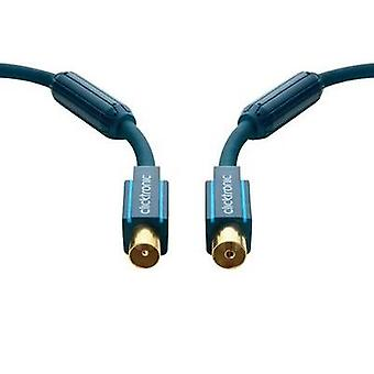 Antennas Cable [1x Belling-Lee/IEC plug 75Ω - 1x Belling-Lee/IEC socket 75Ω] 3 m 95 dB gold plated connectors, incl. fer