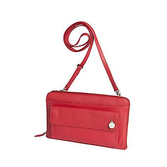 Dr Amsterdam shoulder bag Mint Tango Red