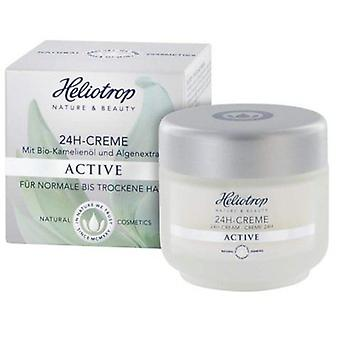 Heliotrop Crema 24H Active 75Ml