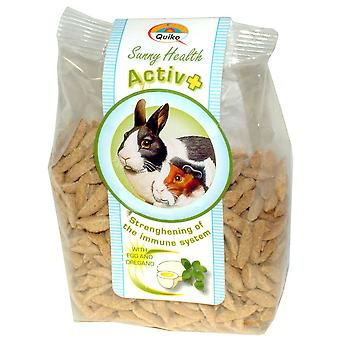 Quiko lille solrig dyresundhed Activ + 125g (pakke med 7)