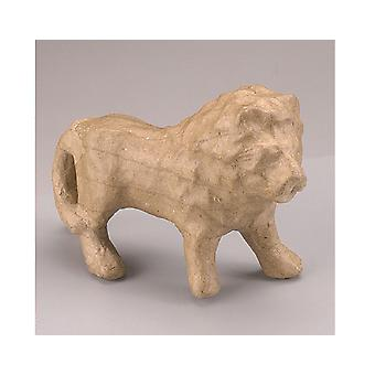 Paper Mache Standing Lion Shape to Decorate