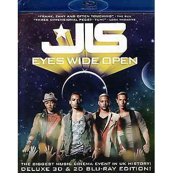 JLS - Eyes Wide Open [BLU-RAY] USA importeren