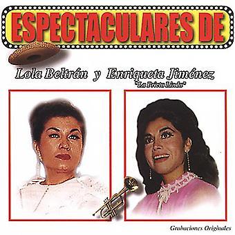 Beltran/Enriqueta - Espectaculares De Lola Beltran Y Enriqueta La Prie [CD] USA import