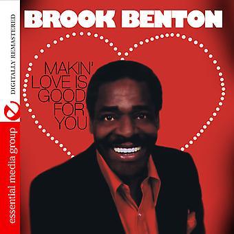 Brook Benton - Makin kærlighed er godt for dig [CD] USA Importer