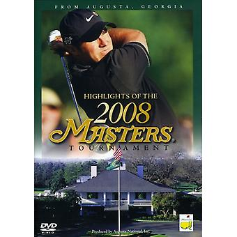 Masters-2008-Tournament Highlights [DVD] USA import