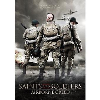 Hellige & soldater: Luftbårne Creed [DVD] USA importerer