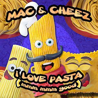 Mac & Cheez - jag älskar Pasta (Mmm Mmm bra) [CD] USA import