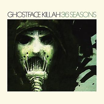Ghostface Killah - 36 säsonger [Vinyl] USA import
