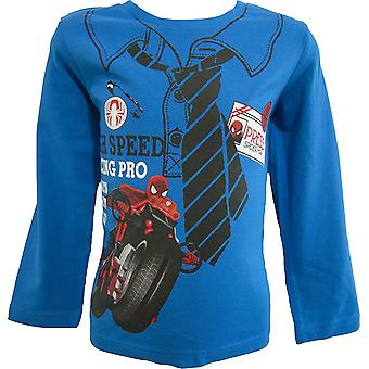 Marvel Spiderman Boys Long Sleeve Top