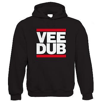 Vectorbomb, Vee Dub, Mens Car & Camper Hoodie