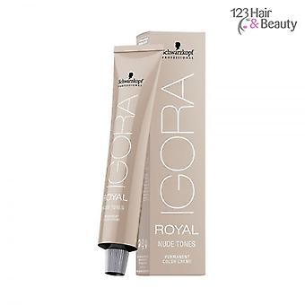 Schwarzkopf Igora Royal Nude tons 60ml - 7/46 moyenne Blonde Beige chocolat