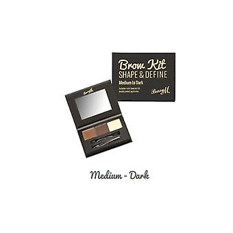 Barry M Barry M Brow Kit Medium/mørke