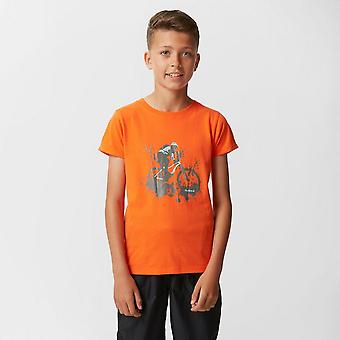 Downhill Orange Peter Sturm Boys' T-shirt