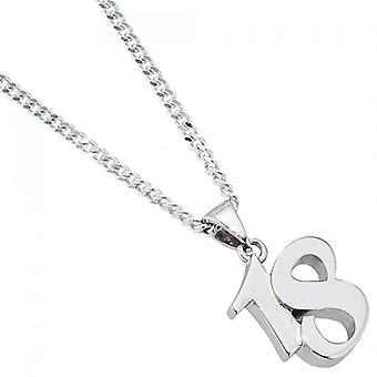 Pendant 925 /-s 18 pendant silver 18 trailers to 18th birthday