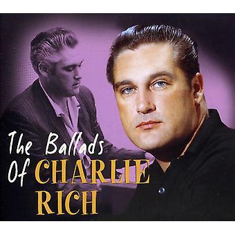 Charlie Rich - ballader af Charlie Rich [CD] USA import