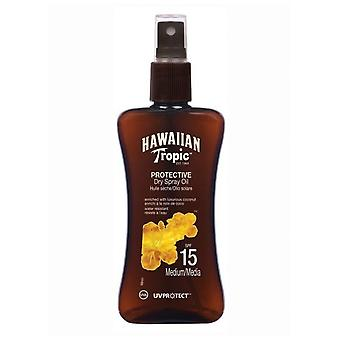 Hawaiian Tropic Ht Protective Dry Oil Spray SPF 15