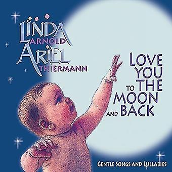 Linda Arnold - elsker deg på månen & tilbake [DVD] USA import